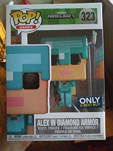 FunKo - Figurine Minecraft - Alex Pop 9cm - 0889698264013