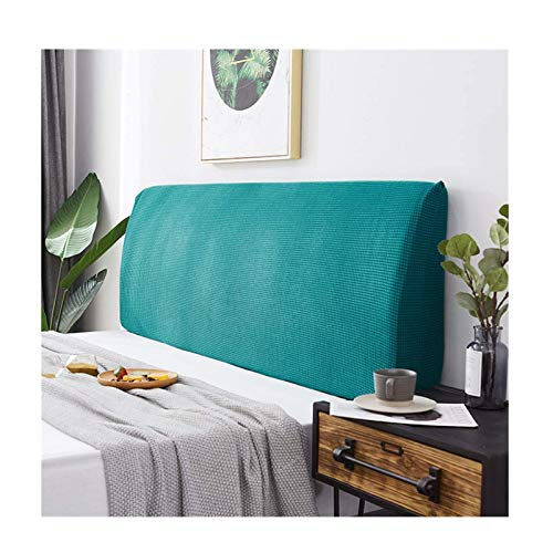 Siunwdiy All-Inclusive Cover Cover/Abdeckung Elastic Double Head, Zylinderkopfhaube Plüschfutter Schutz Kopf verdicken Elastic Waschbar,Emerald Green,200cm