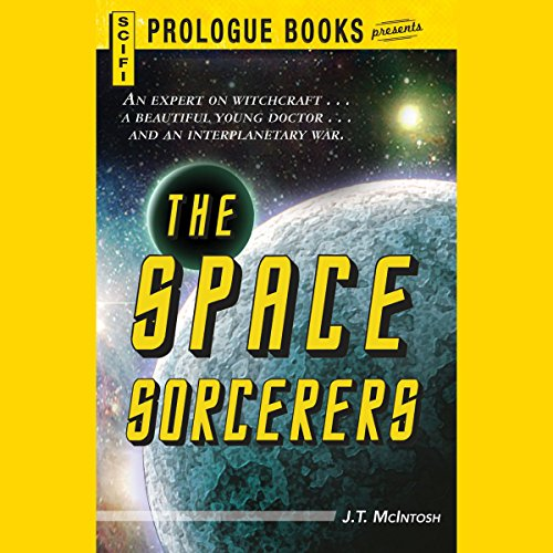 The Space Sorcerers audiobook cover art