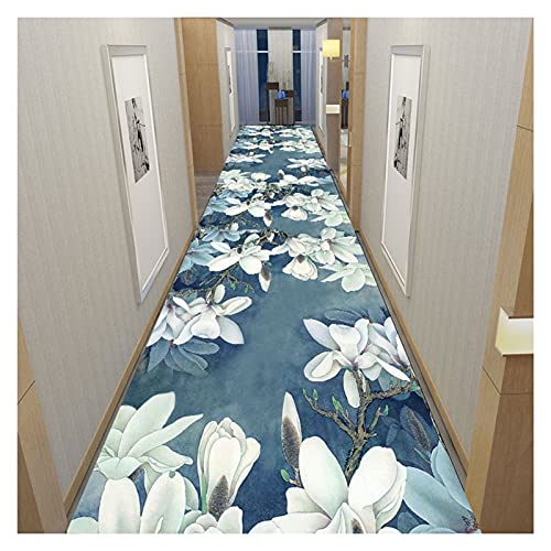 YYQIANG Tapis de runneur à motif floral for le couloir, des tapis d