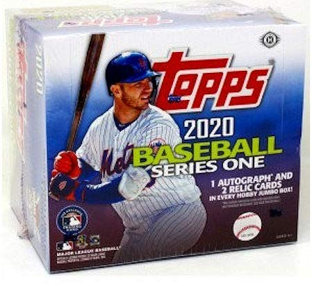 2020 Topps Series 1 MLB Baseball JUMBO box (10 pks/bx)