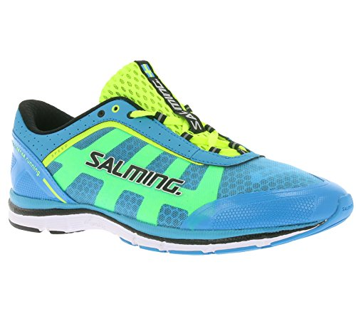 SALMING Speed Schuhe Herren Laufschuhe Sportschuhe Türkis 1284030-1313, Größenauswahl:47 1/3