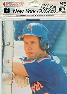 New York Mets: 4 Glossy Pictures of Today's Stars: McReynolds, Cone, Myers, Jefferies