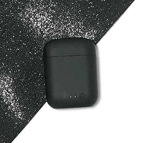 Fone De Ouvido Sem Fio InPods Coloridos Macaron Bluetooth 5.0 i12 TWS Touch True Wireless Stereo (Preto)