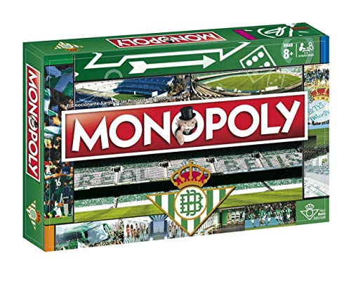 Eleven Force Balompi&Eacute Monopoly Real Betis (81625), Multicolor, Ninguna