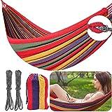 YLX Hamaca, Ligera Hamaca Portátil de Viaje para Camping con Bolsa de Transporte para IR de Excursión a la Playa (74 x 43inch)