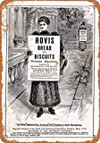FemiaD Vintage Look Tin Signs 8 x 12-1895 Hovis Bread and Biscuits