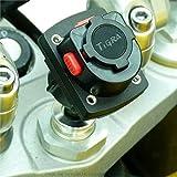 13.3-14.7 mm Fourche Moto & Tigra Sport Twist & Lock Adaptateur