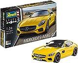 Revell 80-7028 Modellbausatz Auto 1:24 - Mercedes-Benz AMG GT im Maßstab 1:24, Level 3, originalgetreue Nachbildung mit vielen Details, 07028