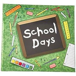 MBI 849158 School Days Album, 12 x 12, Green