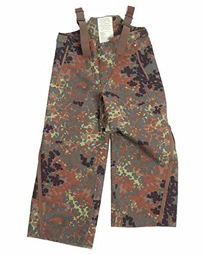 BW Regenhose, gebraucht, flecktarn (sehr groß (56-58))