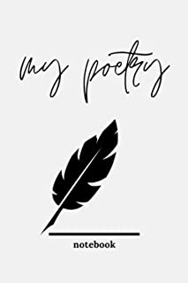 My Poetry Notebook:: A Lined Journal For Writing Poems Stories | For Kids and Adults | Lined Pages | Diary Notebook | Gift...