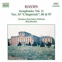Haydn Symphonies, Vol. 11: 53, 86 & 87 (2006-08-01)
