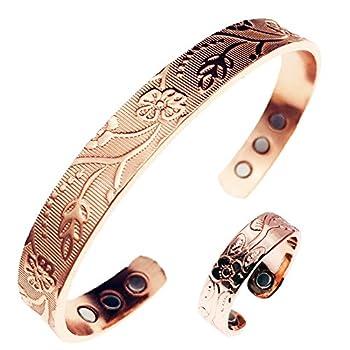 LONGRN-Pure Copper Magnetic Ring & Bracelet for Arthritis Relief,Women