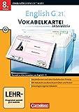 English G 21 - Lernsoftware - Vokabelkarteien interaktiv - zu allen Ausgaben: Band 4: 8. Schuljahr - CD-ROM (English G 21 / Vokabelkarteien interaktiv - Lernsoftware zu allen Ausgaben) -
