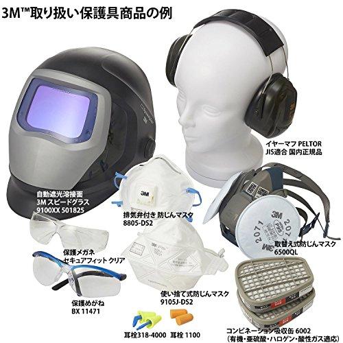 3M『スピードグラス自動遮光溶接面9100V』