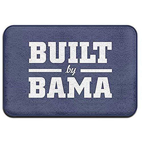 OUSHENGMAOYI Home Voordeur Mat Alabama Ingebouwde Bama Grappig Logo Gift Thuis Welkom Mat Deurmat Outdoor Grappig 60X40Cm