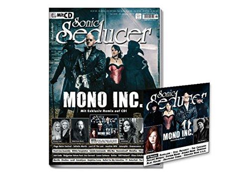 Sonic Seducer 06-2018 mit Mono Inc. (Titelstory), Midnattsol, Chvrches, Jonathan Davis, M.I.N.E u.v.m. + CD mit 14 Tracks von Mono Inc., Elvellon, Still Patient?, u.v.m.
