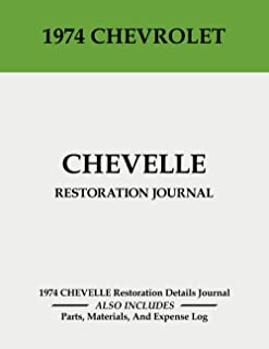 1974 CHEVELLE - Restoration Journal: Document the progress of your Chevelle restoration. Keep track of parts purchases and...