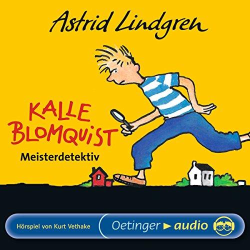 Page de couverture de Kalle Blomquist Meisterdetektiv