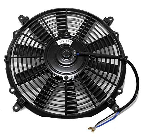 MASO Ventilador de enfriamiento del motor del coche de 12 pulgadas, ventilador...