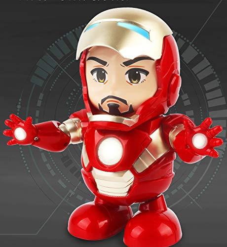 YUNDU Juguete Bailando Iron Man Historia De Aprendizaje Temprano Robot Niño Bebé Juguete Educativo,ElectricIronMan