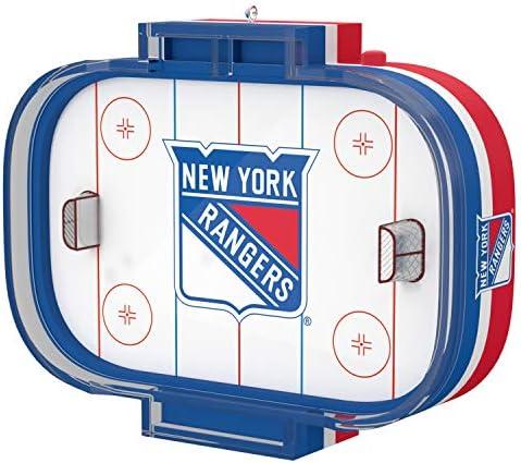 Hallmark Keepsake Christmas Ornament 2020 NHL New York Rangers With Sound product image