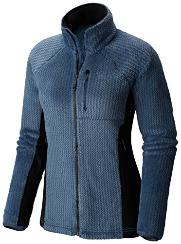 Mountain Hardwear Monkey Pro Polaire Femme, Zinc, FR : L (Taille Fabricant : L)