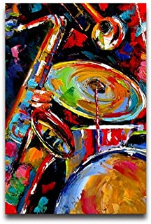 Abstract Jazz Colorful Music Painting Customized Decorative Creative Art Design Wall Decor Custom Poster 16