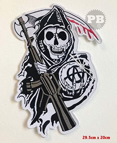 Sons of Anarchy - Große Bikerjacke - Aufnäher zum Aufnähen