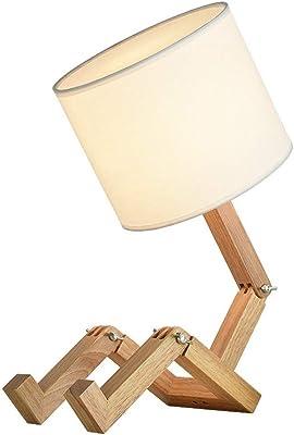 À Pied En Originale Jour Design Bambou Lampe Abat Poser Et mnO80yNwv