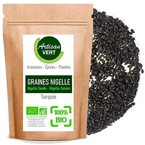 Graines de Nigelle BIO (Cumin Noir) 100g - L'Artisan du Vert