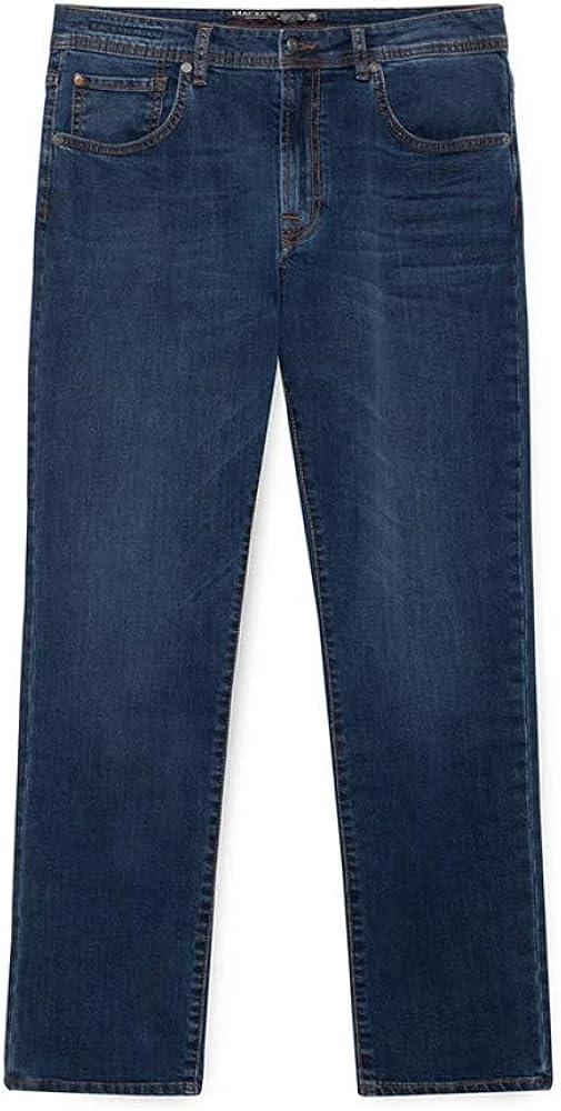 Hackett London Nwbg Slim Vint Wash Pantalon Homme Denim