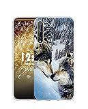 Sunrive Coque Compatible avec Honor Play 3, Silicone Étui Housse Protecteur Souple Gel Transparent...