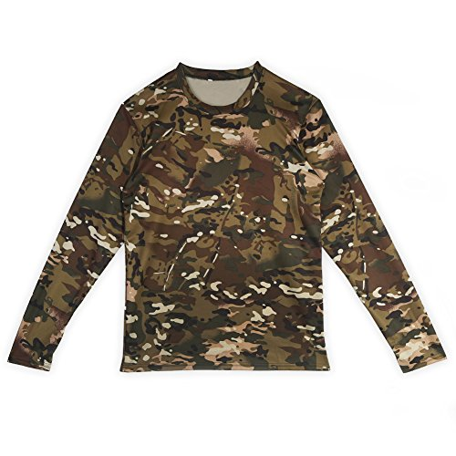Us Long Manche Army manches longues woodland camouflage military outdoor homme shirt