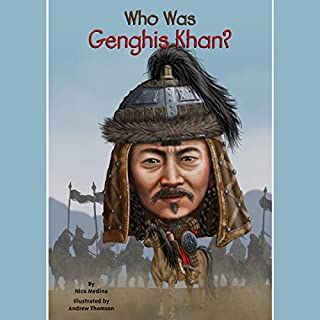 Who Was Genghis Khan? cover art