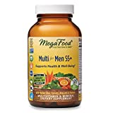MegaFood, Multi for Men 55+, Supports Optimal Health and Wellbeing,...