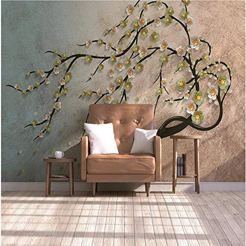 3D vliesbehang foto vlies premium fotobehang achtergrond behang wandschilderij van het Rijk Boom 3D 300*210cm #003