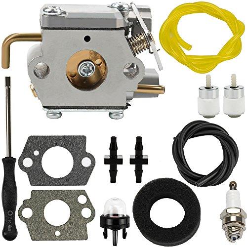 Dalom 753-04333 Carburetor w Air Filter Fuel Line for MTD Ryobi 700r 720r 725r 775r 790r 600r 704r 705r 725rE 750r 765r 766r 767r String Trimmer Brushcutter