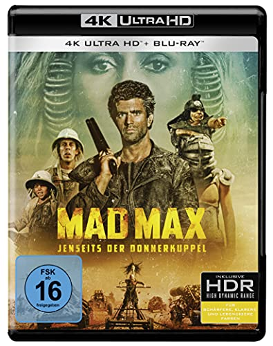 Mad Max - Jenseits der Donnerkuppel (4K Ultra HD) (+ Blu-ray 2D)