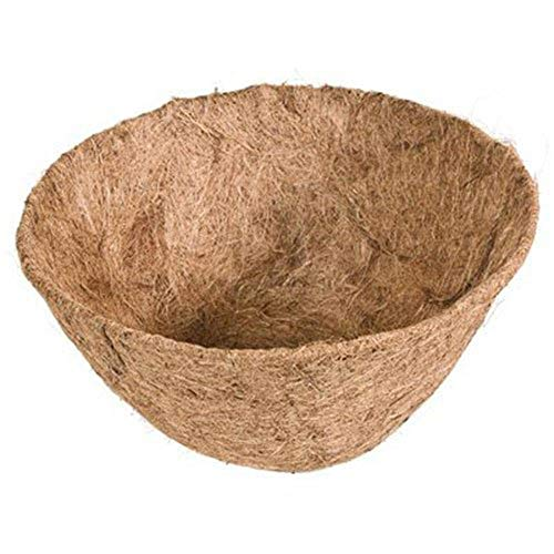 Kokoseinlage Hängekorb Pflanzeinsatz Hängeampeln Kokos Korb für Garten Balkon Blumentopf 35cm/13inch