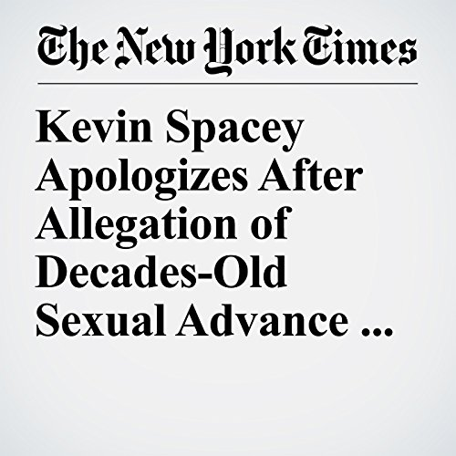 Kevin Spacey Apologizes After Allegation of Decades-Old Sexual Advance on a Minor copertina
