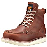 Timberland PRO Men's 53009 Wedge Sole 6' Soft-Toe Boot,Rust,7 M