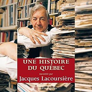 Une histoire du Québec cover art