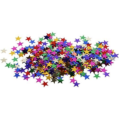 Paillettes étoiles, dim. 10 mm, 10 gr