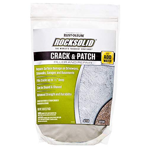 Rust-Oleum 60629 Rocksolid Crack-N-Patch Concrete Filler and Repair