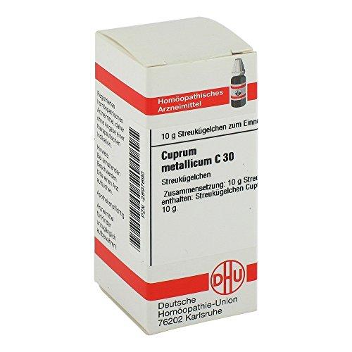 Cuprum Metallicum C 30 Globuli