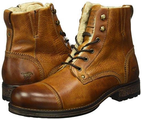 Mustang Herren 4865-608 Kurzschaft Stiefel, Braun (301 Kastanie) - 5