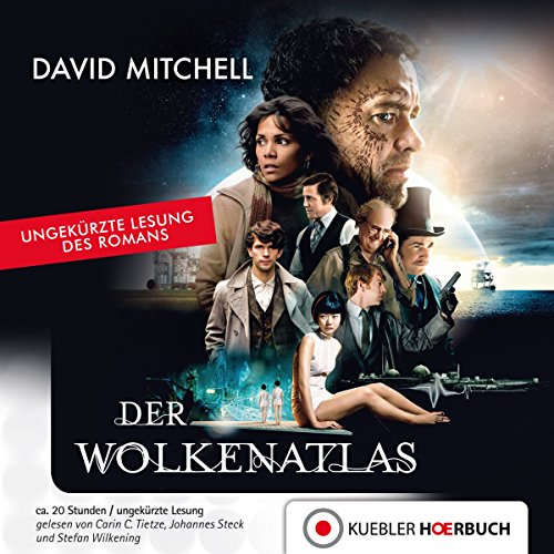Der Wolkenatlas audiobook cover art