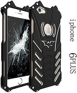 Iphone 6s plus case,iphone 6 plus black case,wskshop New Superheroes anime Design,super slim Aluminum Metal Shockproof and Drop Protection waterproof case cover for Apple Iphone 6 plus 5.5inch